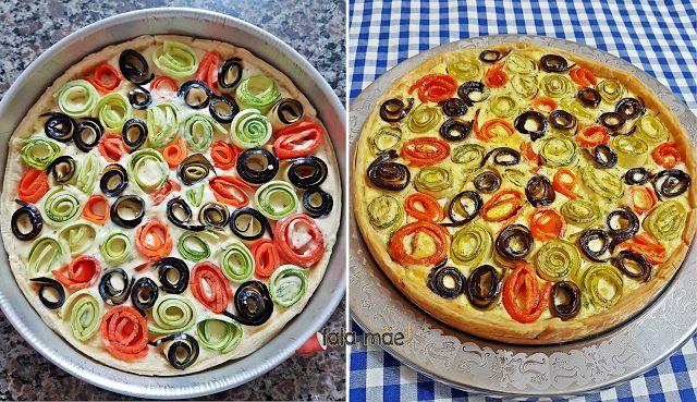 Fala, mãe!: Torta de legumes do Pinterest