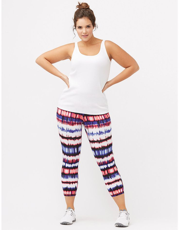 Plus size womens knit workout pants