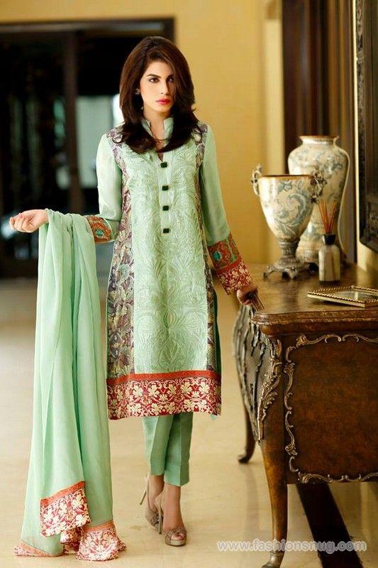 Sana Salman Eid-Ul-Fitr Dresses 2014 In Stores
