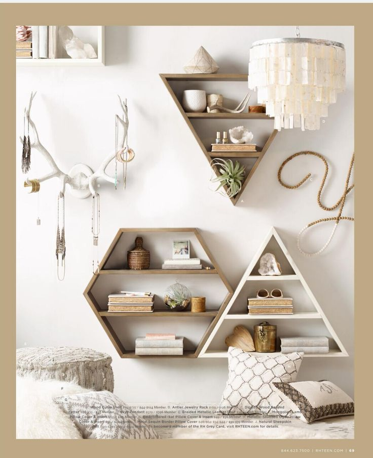 Cute shelves, look easy to make