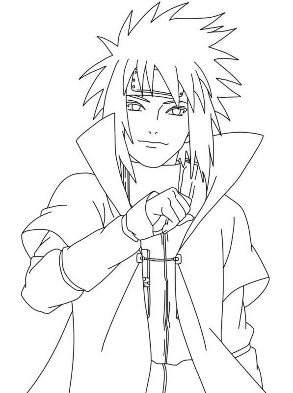 25 Gambar Anime Naruto Keren Hitam Putih Koleksi Rial Di 2020 Gambar Anime Sketsa Gambar