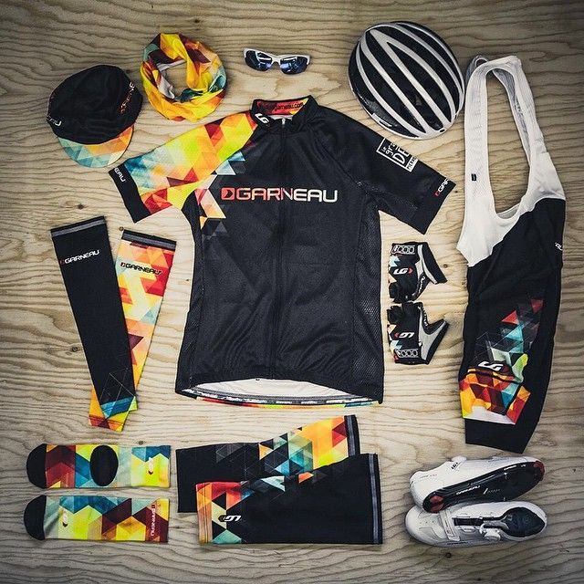 This custom kit was designed specifically for the @louisgarneau team to wear during the @granddefipierrelavoie 1000 km ride. #gdpl #customapparel #kitspiration #cyclingkit