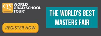 Mapmystudy.com is proud to be the media partner of QS MBA/ Master's Tour India!!  1.Find the perfect program and study destination  2.Speak with selected admissions advisors and learn how to make your application a success  3.Exclusive #scholarship opportunities worth US$ 1.7 Million for attendees  Click on the links below as per your Program Interest and complete the registration process: