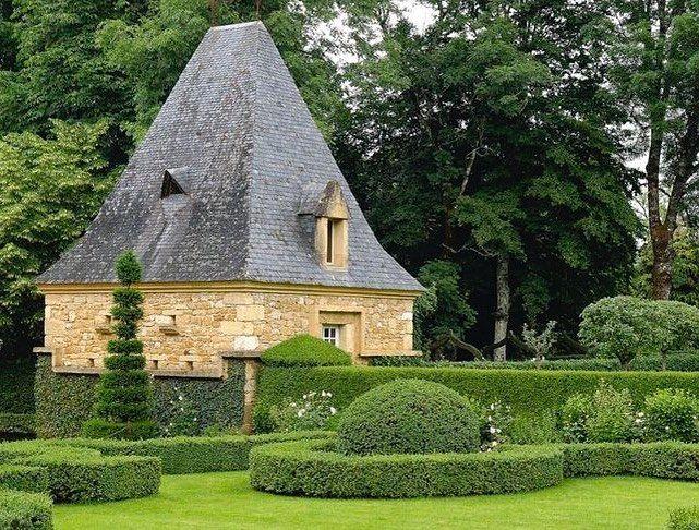 . . #FridayFollies . Manoir d'Eyrignac, Salignac-Eyvigues, France . Les jardins du Manoir d'Eyrignac, one of the finest examples of…