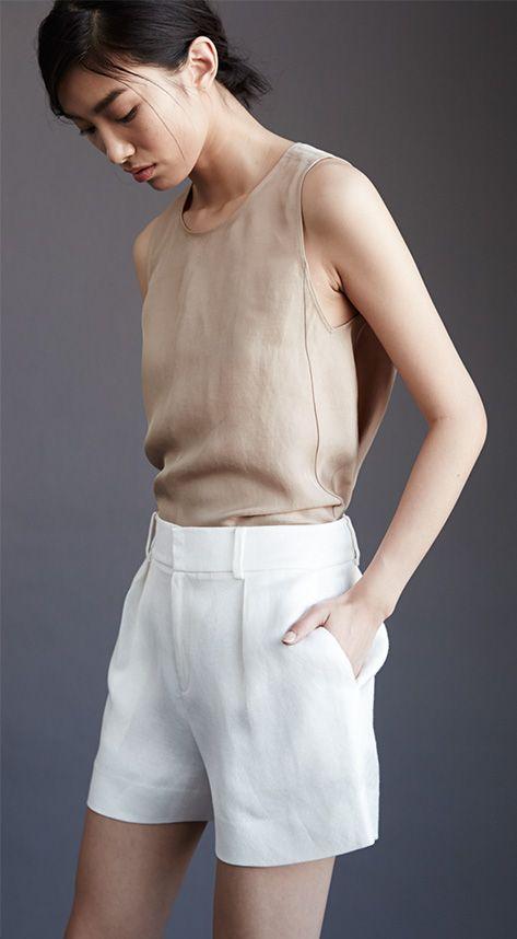 Women's Shorts: Leather, Chino & Jean Shorts   Club Monaco