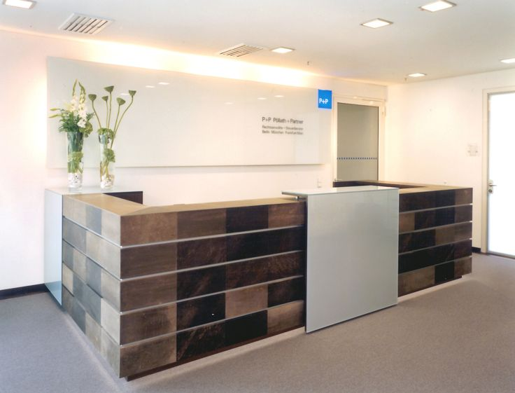 Front desk by Plan W for a lawfirm in Berlin