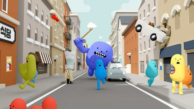 Lead Creative Direction: VIMN MTV World Design Studio, Milan Creative Director: Roberto Bagatti  Associate Creative Director: Anna Caregnato  Art Director: James Walpole Senior Producer: Cristina Mazzocca Coordinator: Beatrice Cardile  Production Company: Sticky Monster Lab. Director: FLA Designers: FLA, Boo Animators: FLA, Joe, Lefty, Gyeom Producer: Nana Music: The Solutions