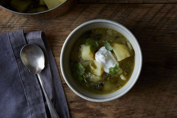 Deborah Madison's Potato and Green Chile Stew on Food52