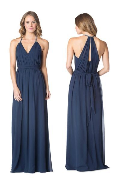 New Bari Jay Bridesmaid Dresses for Spring of 2105.  LOVE the back!