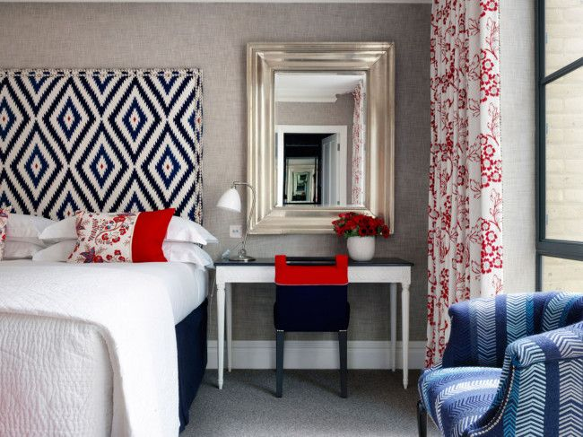 Bedroom. Small desk/table beside bed. See inside the best boutique hotels in the world gallery - Vogue Australia