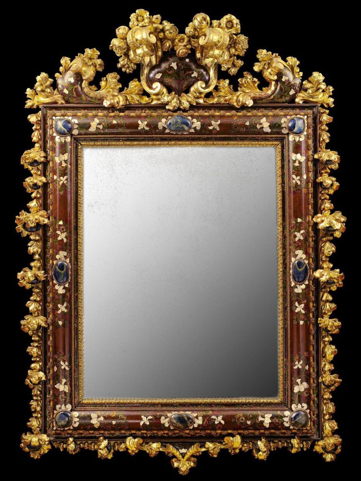 17 best images about frame it on pinterest old master for Miroir xviii