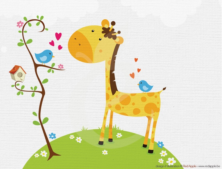47 Best Images About Giraffe Clipart On Pinterest