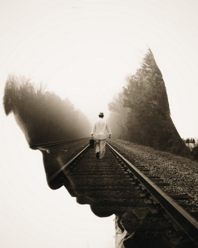 Double Exposure Photography by Brandon Kidwell