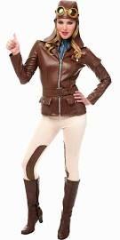 womenu0027s amelia earhart aviator costume