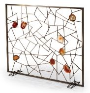 Buy venice fireplace screen by Tuell + Reynolds - Made-to-Order designer  Accessories from Dering Hall's collection of Transitional Mid-Century /  Modern ...