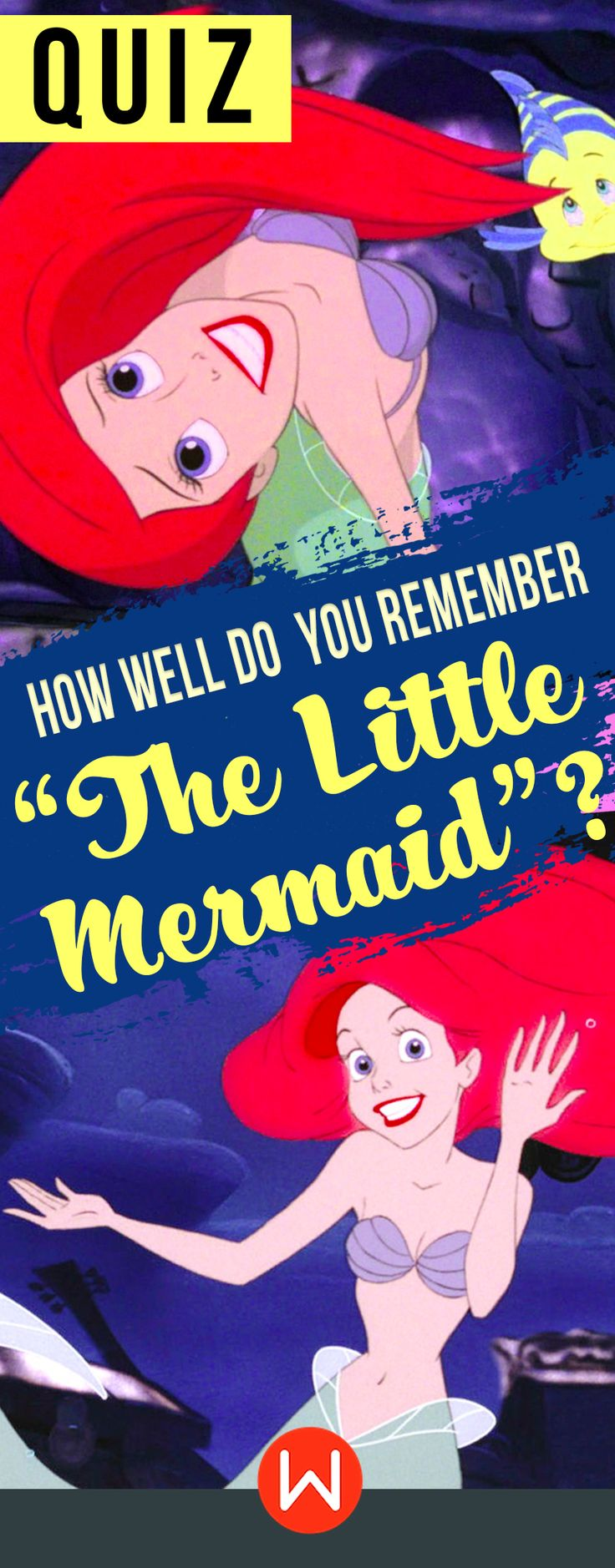 Quiz: How well do you remember The Little Mermaid? Disney Little Mermaid trivia, Little Mermaid quiz, Princess Ariel, Ursula, Sebastian, buzzfeed quizzes, fun Disney test... Do you know everything about The Little Mermaid? Prove it!