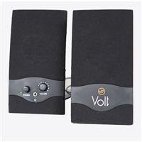 Volt VSPUSB-2 USB 2.0 Black Ηχεία Υπολογιστή