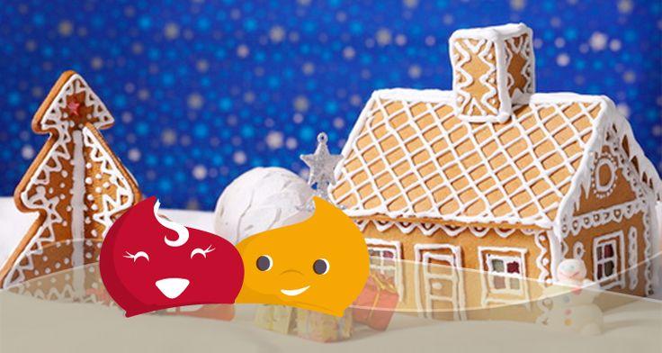 Come costruire una casa di pan di zenzero per natale #dolci #Natale #tradizione #decorazioni #ricetta #casa #pandizenzero #casetta