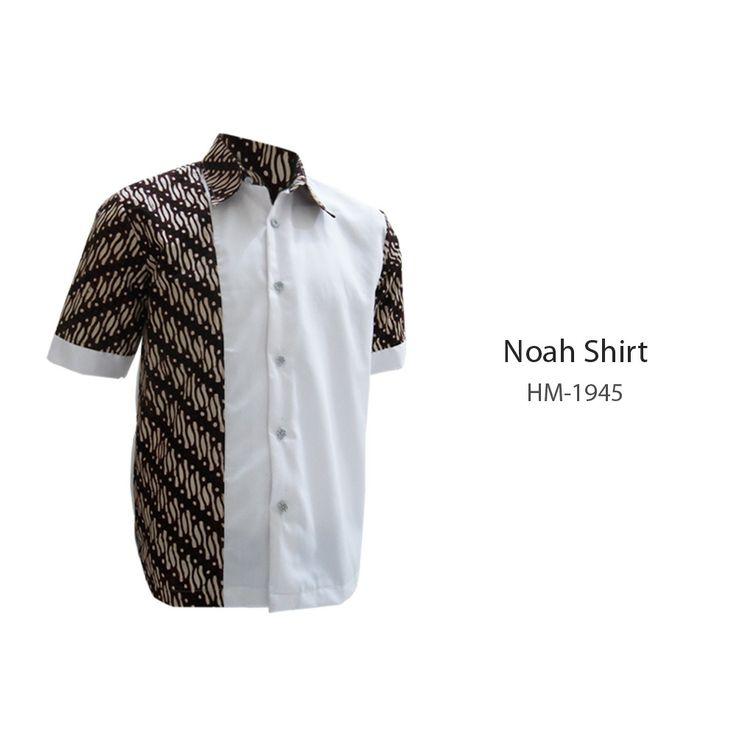 Noah Shirt HM-1945  #kemejabatikmedogh  http://medogh.com/baju-batik-pria/kemeja-batik-pria/Kemeja-Batik-Patriot-Series-Kemeja-Noah-HM-1945
