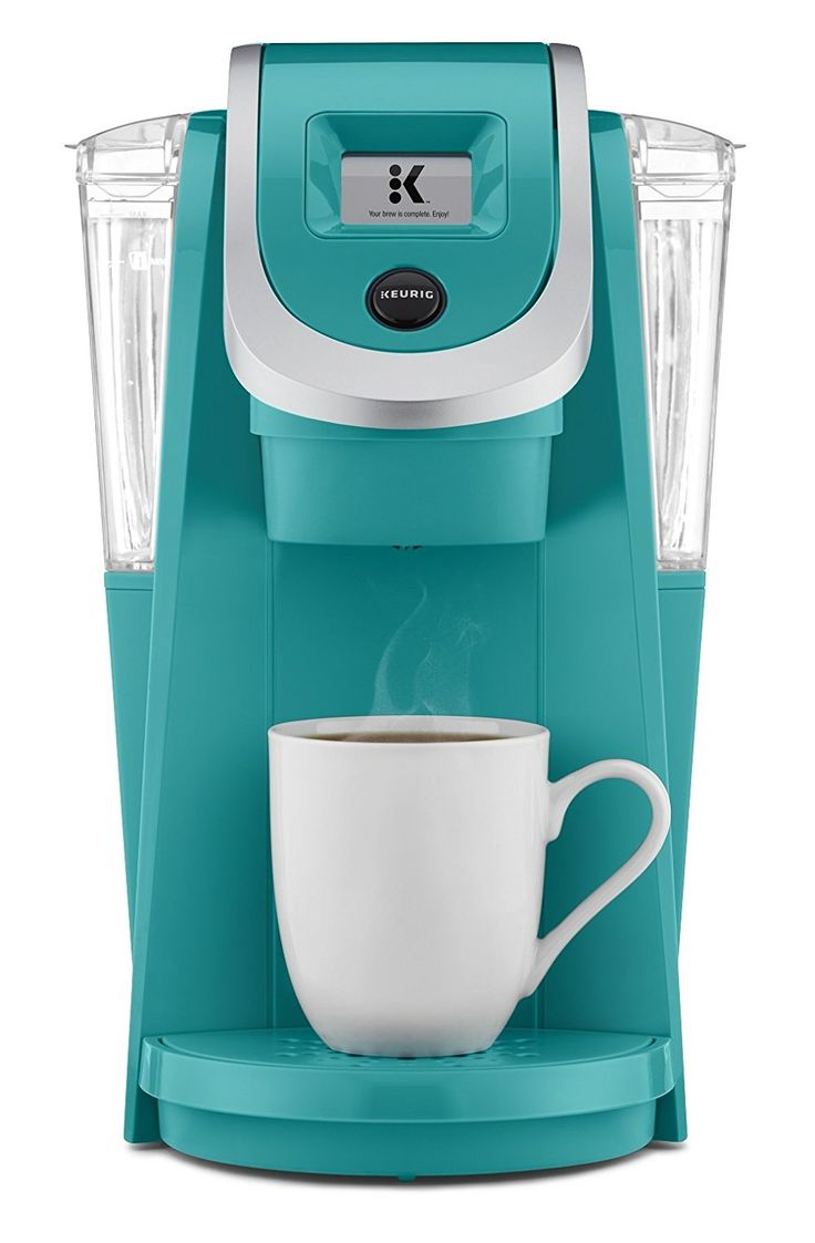 Keurig K250 Single Serve, Programmable K-Cup Pod Coffee Maker with strength control, Turquoise *** Want additional info? Click on the image.