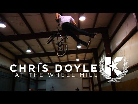 "Chris Doyle at Pittsburgh's ""The Wheel Mill"" - KINK BMX"