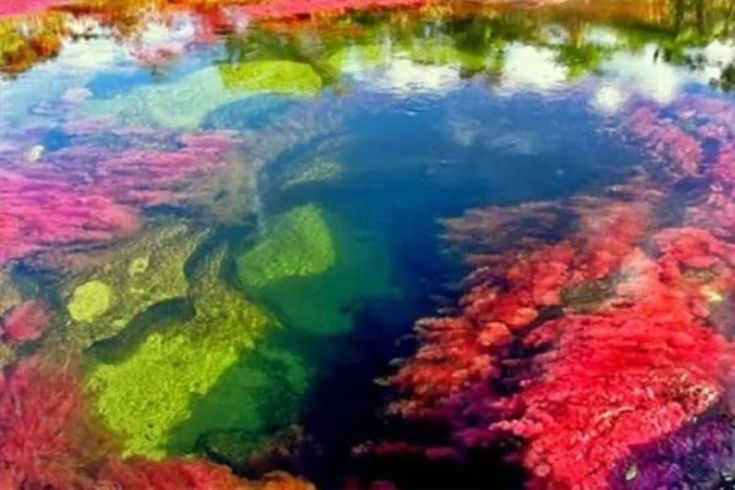 Gyönyörű a világ legszínesebb folyója – képek
