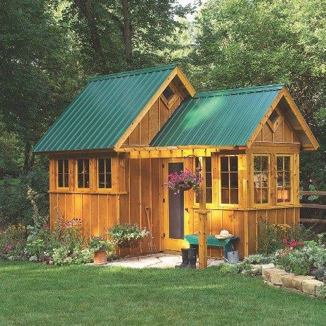 17 best ideas about shed plans on pinterest storage for Storage shed playhouse combo plans