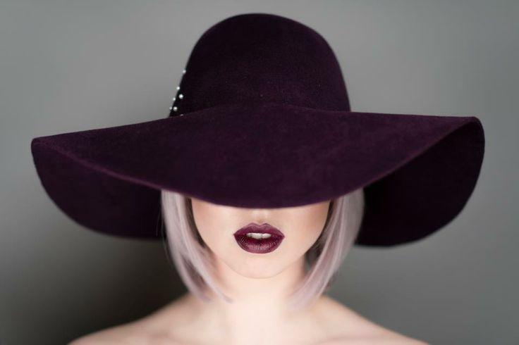 Peekaboo! Juicy mulberry lips #makeup #FarhanaHennaMUA www.farhana.co.uk