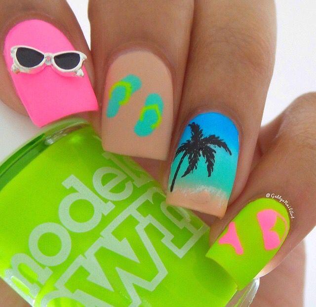 Mejores 963 imágenes de Nails en Pinterest   Uñas bonitas, Diseño de ...