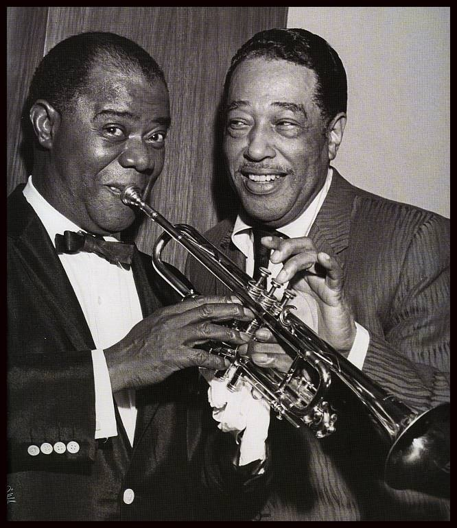 Louis Armstrong & Duke Ellington