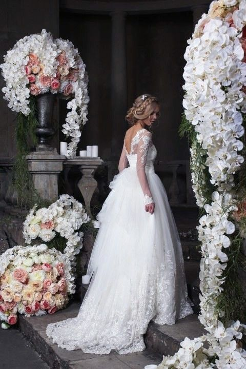 Свадебные платья от Speranza couture    #wedding #bride #flowers