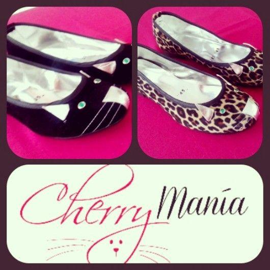 Ballerinas hechas a mano de #Cherrymania