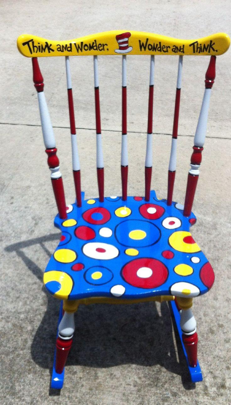 Dr. Seuss chair @Cari Czajkowski-Netzel @Samantha Provenzano