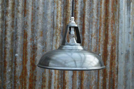 Vintage antique zinc coolicon ceiling light by mjknobsandknockers