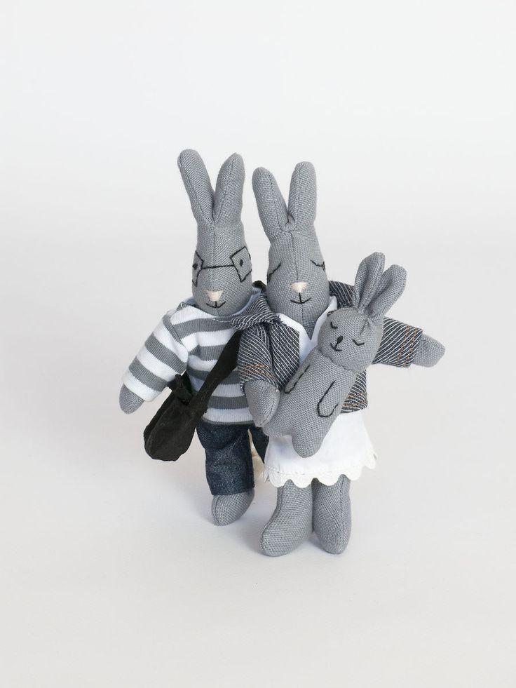 Pluszowe króliczki Zabawki