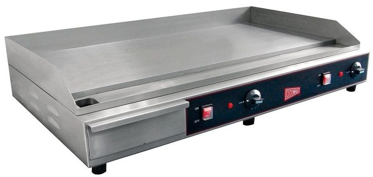 "GMCW Commercial 36"" Electric Griddle Counter Top Flat Grill EL1636 