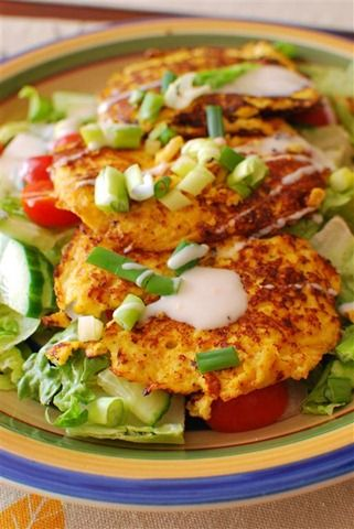 Lime and Chilli Sweetcorn Fritters | Slimming Eats - Slimming World Recipes