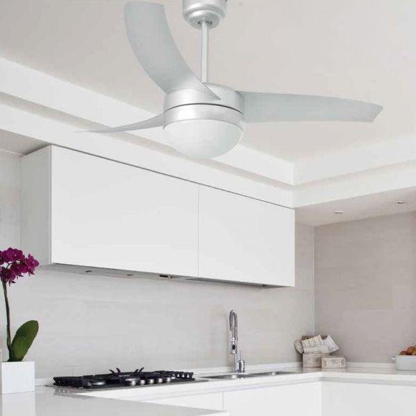 Schicker Faro Deckenventilator Easy In Grau Faro 33416 Ventilator Deckenventilator Wohnzimmer Inspiration