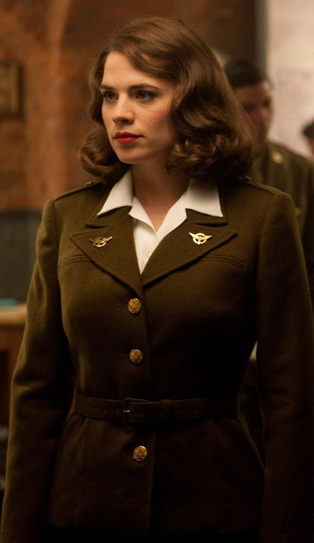 Hayley Atwell as Peggy Carter (Captain America: The First Avenger)