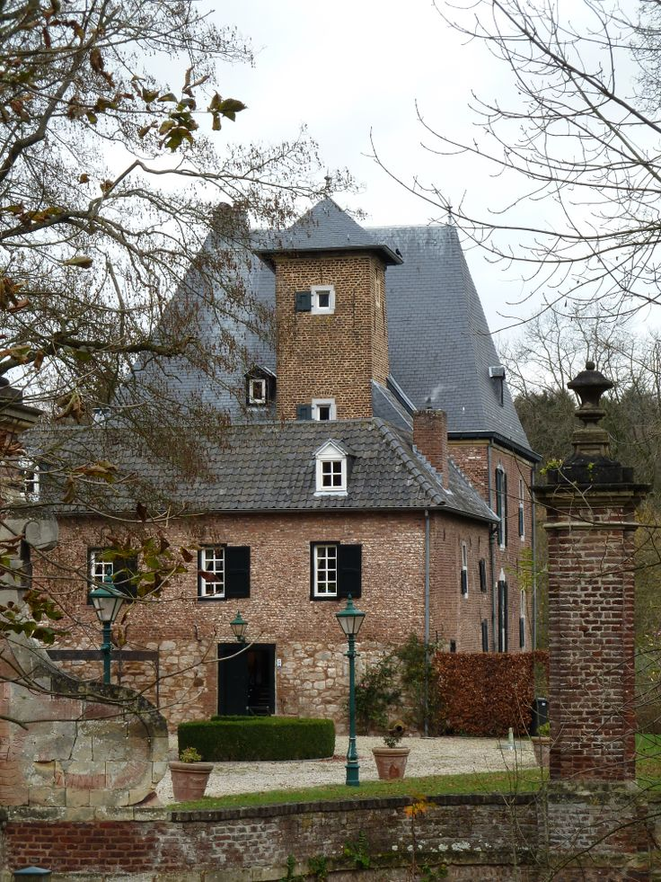 Kasteel Lemiers, Lemiers, Zuid-Limburg, Netherlands
