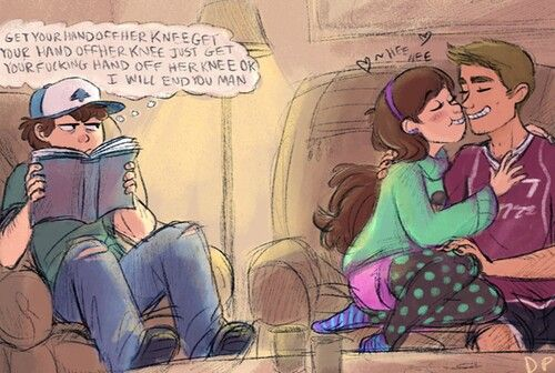 Oh Aiden what have you done Dipper gonna kick you---- sorry for the language, it was just too good not to repin