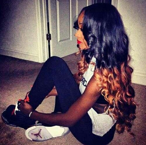 Sew in Ombre Hair Color