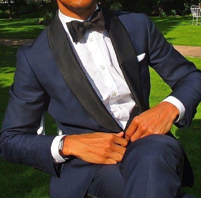 Groom suits- şık damatlık modeli- lacivert takım elbise-siyah uyumu