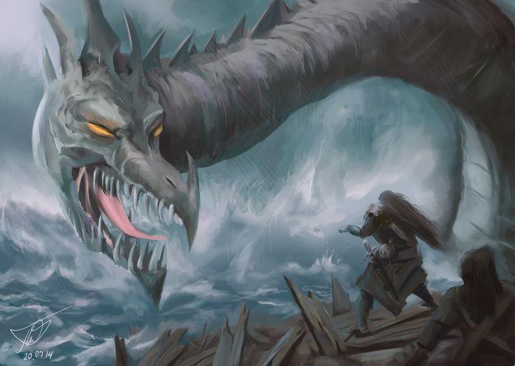 Змей, 16:00, 20.09.2014 работа является копией к незнама каком художнику , и рисовалась с игровой карты игры Magiс the gathering. #illustration #YNNP #mtg