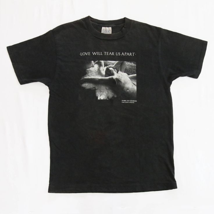 Vintage 90s Joy Division 1993 Love Will Tear Us Apart T Shirt UK Rock IanCurtisPost PunkCloserNew Order The SmithsThe CureSex Pistols by Vtg90s on Etsy  #vintage #JoyDivision #LoveWillTearUsApart #UKRock #uk #RockBand #IanCurtis #Punk #PostPunk #Closer #JoyDivisionCloser #NewOrder #TheSmiths #TheCure #TheClash #SexPistols