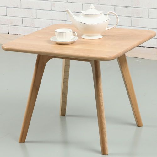 Magnus Side Table - Solid Oak - 60x60x50cm