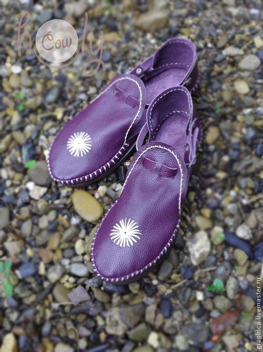 Обувь ручной работы. Ярмарка Мастеров - ручная работа. Купить Кожаные сандалии