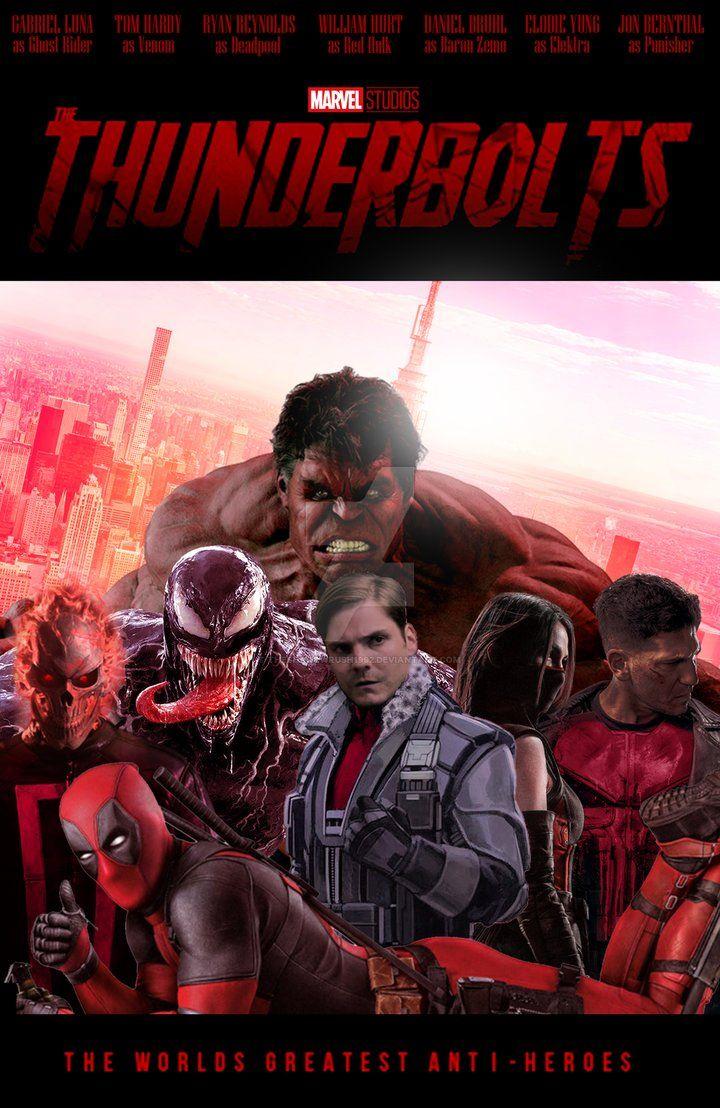 47++ Thunderbolts movie information