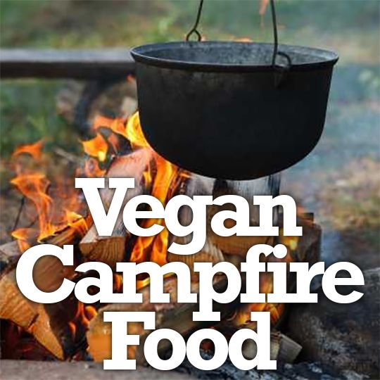 Veg families don't have to give up classic campfire food!