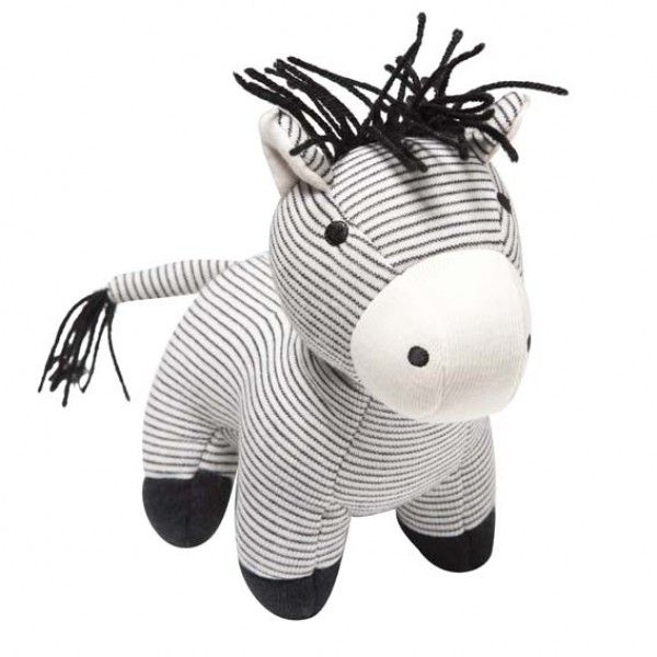 Bebe Spencer Zebra Rattle $17.95